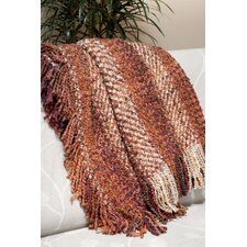 <strong>Kennebunk Home</strong> Ombre Woven Acrylic / Polyester Throw