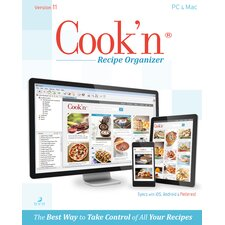 Cook'n Recipe Organizer Version 11