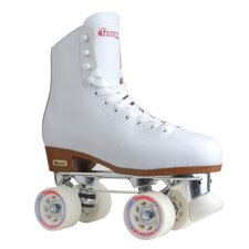 <strong>Chicago Skate</strong> Ladies Leather Lined Rink Women's Roller Skates