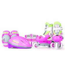 New Girl's Inline Skates Training Set
