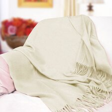 <strong>Peach Couture</strong> Peach Couture Signature Cashmere Throw