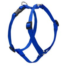 "Solid 3/4"" Adjustable Roman Dog Harness"