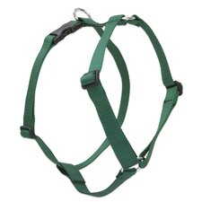 "Solid 1"" Adjustable Roman Dog Harness"