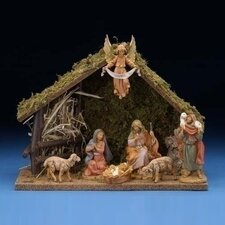 "5"" Scale 7 Piece Figurine Set with Italian Stable"
