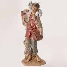 "12"" Scale Gabriel with Lamb Figurine"
