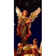 Scale Standing Angel Figurine Christmas Decoration