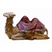 "18"" Scale Seated Camel Figurine"
