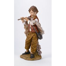 "50"" Scale Michael with Flute Figurine"
