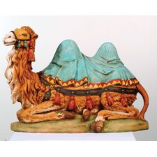 Scale Seated Camel Nativity Figurine Christmas Decoration