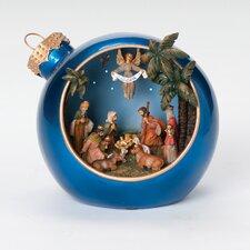 Musical LED Nativity Xmas Ball Figurine