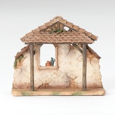 <strong>Fontanini</strong> Resin Stable for Nativity Figurine