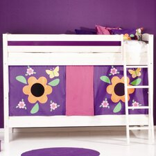 Trendy Bunk Bed with Bed Slats