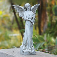 Angel with Cross Statue