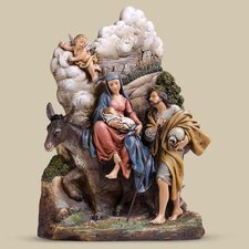 Flight into Egypt Figurine