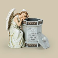 Angel Memorial Box Figurine