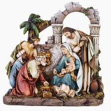 Nativity Scene Figurine with Holy