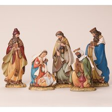 <strong>Joseph's Studio</strong> 5 Piece Flat Nativity Set