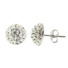 <strong>Moise</strong> Crystal Stud Earrings