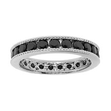 Sterling Silver Delicate Rope Round Cut Cubic Zirconia Ring