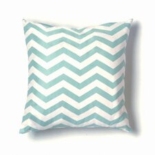 ZigZag Pillow in Seafoam