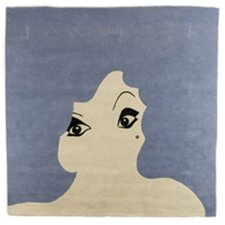 Glamour Girl Novelty Rug