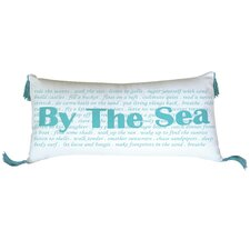 I Sea Life By the Sea Indoor Cotton Lumbar Pillow