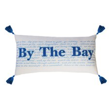 I Sea Life By the Bay Indoor Cotton Lumbar Pillow
