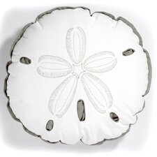 I Sea Life Outdoor Sunbrella Sand Dollar Pillow