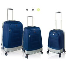 <strong>Travelers Polo & Racquet Club</strong> Moskow 3 Piece Hybrid Luggage Set