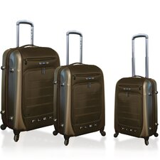 Ford Flex Series 3 Piece Expandable Hybrid Luggage Set