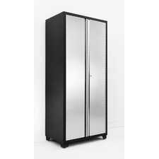 "Pro Stainless Steel 82.5"" H x 36"" W x 24"" D Locker Cabinet"