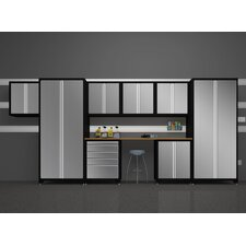 Pro Stainless Steel 9 Piece Cabinet Set