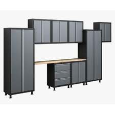 RTA Series 6' H x 14' W x 1.5' D 10-Piece Cabinet Set