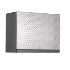 "Diamond Plate Performance Plus Series 22"" H x 28"" W x 14"" D Wall Cabinet Silver"