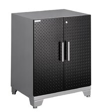 "Diamond Plate Performance Plus Series 32.25"" H x 28"" W x 22"" D Base Cabinet with 2 Door"
