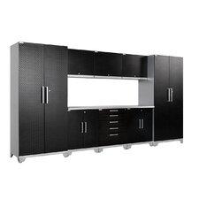 Performance Plus Diamond Series 7' H x 15' W x 2' D 9 Piece Cabinet Set