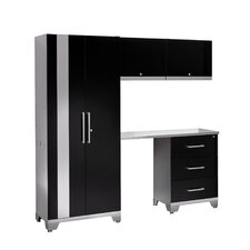 Performance Series 7' H x 8' W x 2' D 5 Piece Cabinet Set