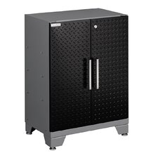 "Diamond Plate Performance Series 34.5"" H x 24"" W x 16"" D Base Cabinet with 2 Doors"