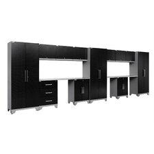 Performance Diamond Series 6' H x 19.5' W x 1.5' D 14 Piece Cabinet Set