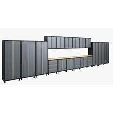 RTA Series 6' H x 28' W x 1.5' D 21-Piece Cabinet Set