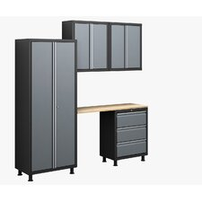 RTA Series 5pc Cabinet Set with Locker