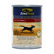 Canned Venison Wet Dog Food (13-oz, case of 12)
