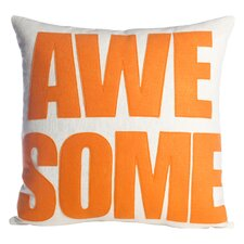 Awesome Throw Pillow