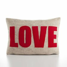 "<strong>Alexandra Ferguson</strong> ""Love"" Decorative Pillow"