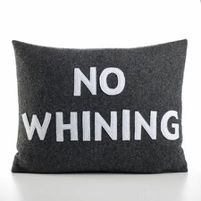 "<strong>Alexandra Ferguson</strong> ""No Whining"" Decorative Pillow"