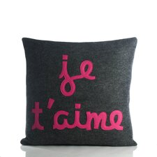 Je T'Aime Decorative Throw Pillow