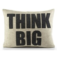 "Zen Master ""Think Big"" Decorative Pillow"