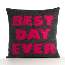 "<strong>Alexandra Ferguson</strong> ""Best Day Ever"" Pillow"