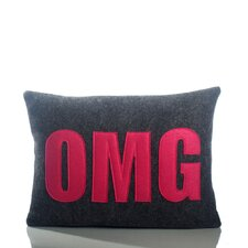 <strong>Alexandra Ferguson</strong> Modern Lexicon OMG Decorative Pillow