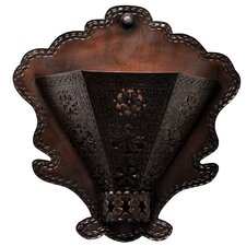 Radiance Tribal Flower Wall Sconce